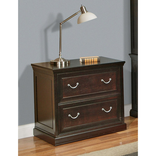 Franklin 2-Drawer Lateral File Cabinet, Espresso