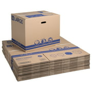 """Pen+Gear Large Recycled Moving and Storage Boxes, 24"""" L x 16"""" W x 19"""" H, Kraft, 25 Count"""
