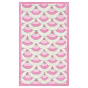 The Rug Market Chi-Lin Pink Area Rug, Size 2.8' x 4.8'