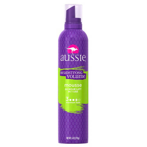 Aussie Headstrong Volume Mousse, 6 oz