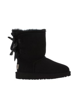Big Kids Ugg Bailey Bow Black Boot 3280KK-BLK