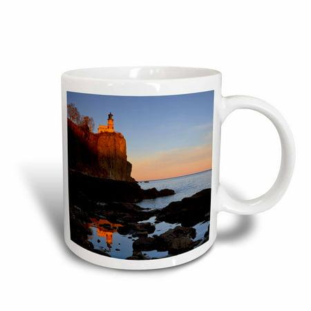 3dRose Split Rock Lighthouse, Two Harbors, Minnesota - US24 CHA0071 - Chuck Haney, Ceramic Mug, 11-ounce