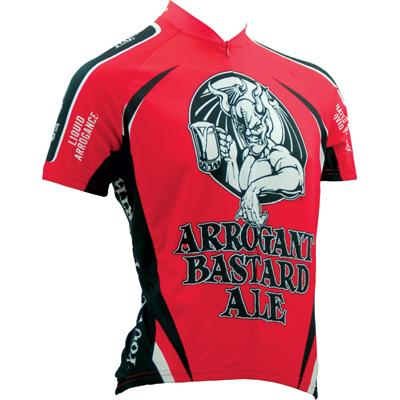 Canari Cyclewear Mens Arrogant Bastard Ale Short Sleeve Cycling Jersey - 1272