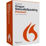 Nuance Dragon NaturallySpeaking v.13.0 Premium - 1 User - Voice Recognition - Academic Box - DVD-ROM - PC - English
