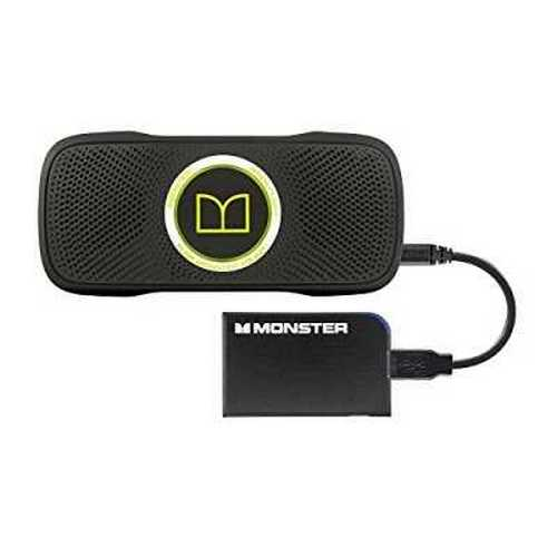 Monster SuperStar BackFloat Waterproof Bluetooth Speaker and Monster Mobile PowerCard Portable Battery