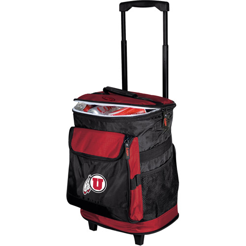 "Logo Chair NCAA Utah 15"" x 16"" Rolling Cooler"