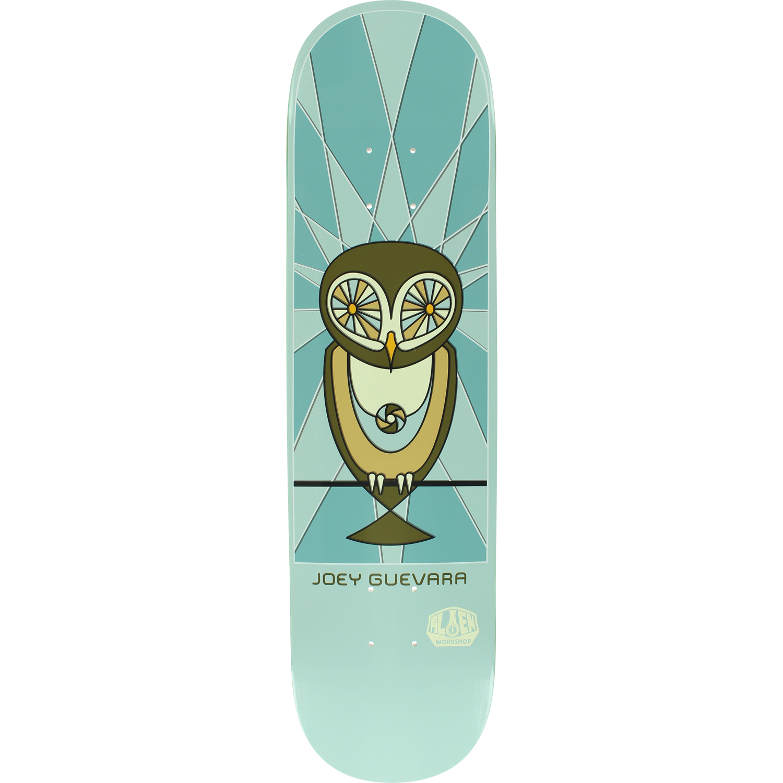 Alien Workshop Guevara Owl Skateboard Deck -8.0 DECK ONLY