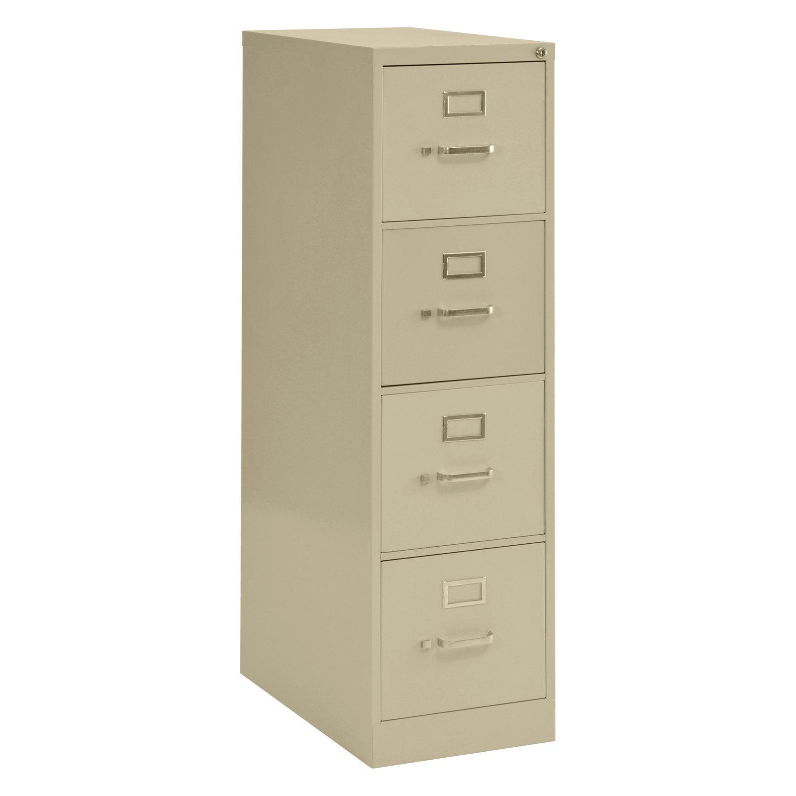 Sandusky Lee 4-Drawer Vertical File Cabinet - Walmart.com