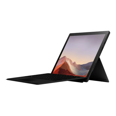 "Microsoft Surface Pro 7 - Tablet - with detachable keyboard - Core i7 1065G7 / 1.3 GHz - Windows 10 Home - 16 GB RAM - 256 GB SSD - 12.3"" touchscreen 2736 x 1824 - Iris Plus Graphics - Bluetooth, Wi-Fi - matte black - kbd: US - with Surface Pro Type Cover (black)"