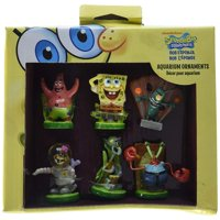 6-Piece Spongebob Squarepants Mini Set Penn Plax