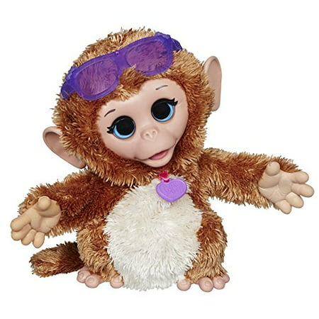 FurReal Friends Baby Cuddles My Giggly Monkey Pet