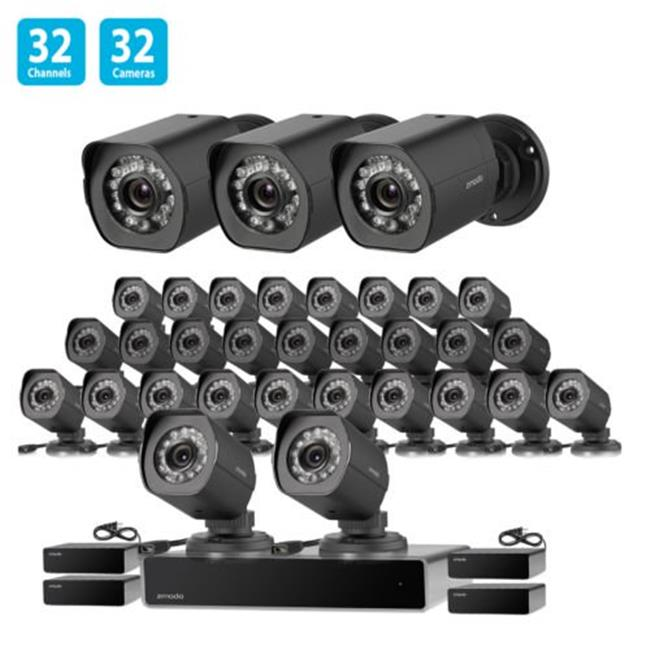 Zmodo BS-1032-B 1.0 MP 32 Channel Network NVR 32 IP HD Security Camera System