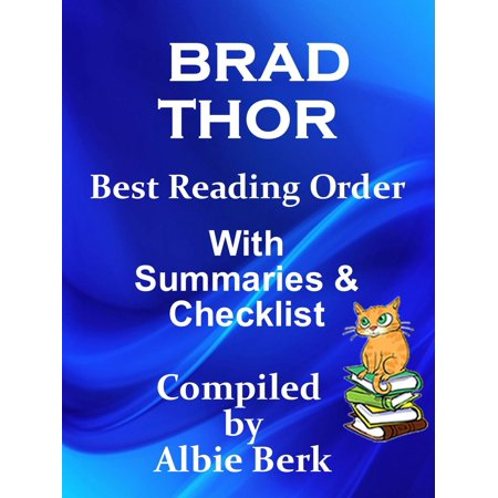 Brad Thor: Best Reading Order with Summaries & Checklist -