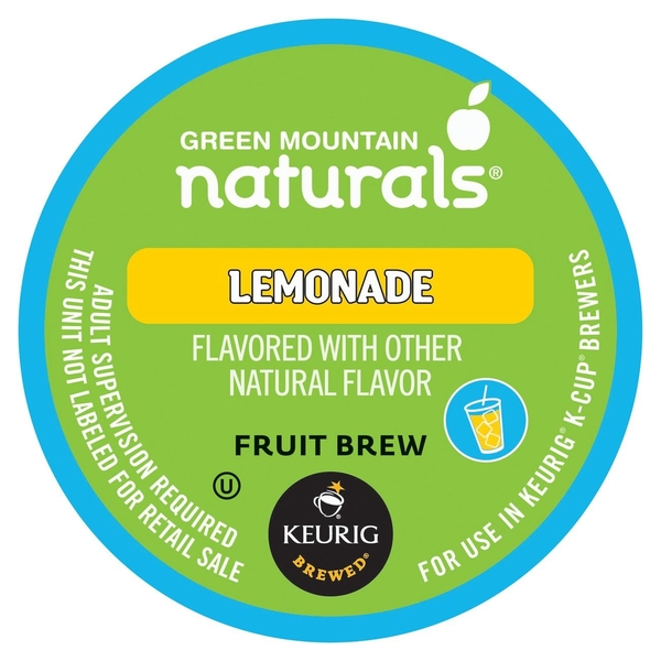 Green Mountain Coffee Roasters Gourmet Single Cup Coffee Lemonade Green Mountain Naturals, 12 CT (Pack of 6)