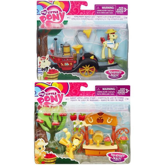 Hasbro HSBB2073 My Little Pony Friendship is Magic Collectible Scene Assortment Toys by Hasbro