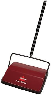 New Swift Sweep Cordless Carpet Sweeper Unique Brush Roll