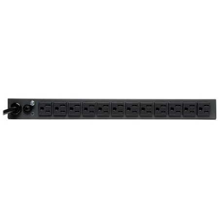 Tripp Lite 1U Rackmount 1.4kW Single-Phase Metered PDU w/ 13 Outlets, 6ft Cord