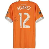 Arturo Alvarez Houston Dynamo Autographed Match-Used Orange #12 Jersey vs. Seattle Sounders on October 21, 2018 - Fanatics Authentic Certified
