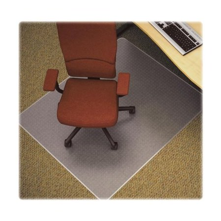 45 Width Overall - 25751 Lorell Diamond Anti-static Chair Mat - 53