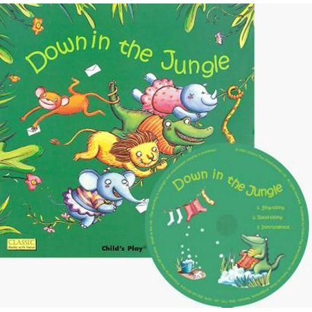 Down in the Jungle (Classic Books with Holes UK Soft Cover with CD) (Paperback) (Beste Shop In Uk)