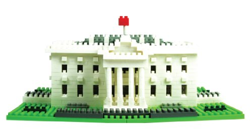 Nanoblock Sites to See Level 4 The White House Puzzle, 890 Pieces by Ohio Art