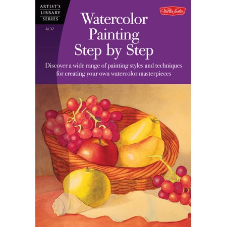 Watercolor Painting Step by Step : Discover a Wide Range of Painting Styles Ad Techniques for Creating Your Own Watercolor Masterpieces - Step By Step Face Painting For Halloween
