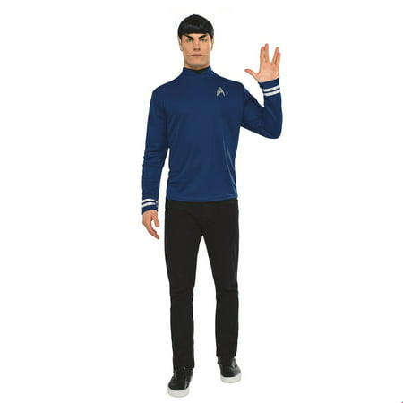 Star Trek Mens Adult Spock Halloween Costume - Star Trek Adult Onesie