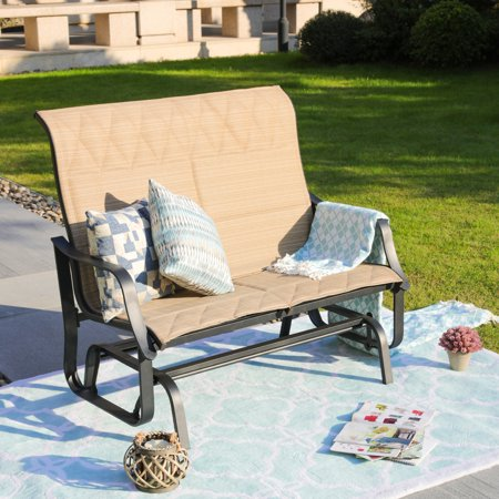 Outdoor Gliding Motion Loveseat