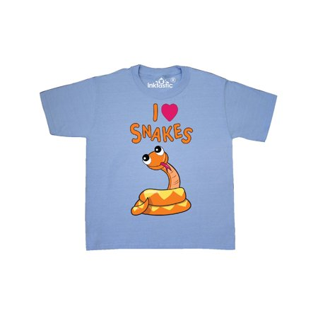 I Love Snakes Youth T-Shirt