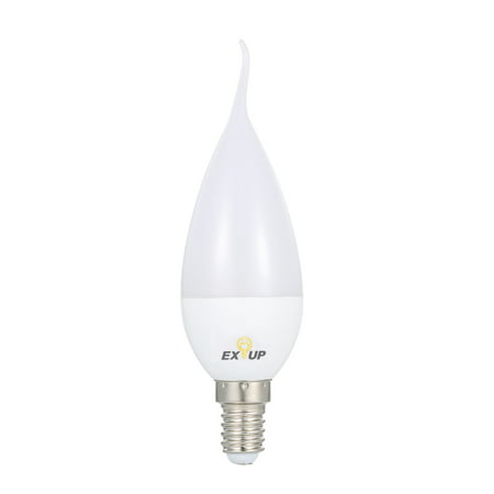 - AC110-130V 7W 11 LED Candle Shape Light Bulb E14 Base Socket Holder IP44 Water Resistance Portable for Living Room Dining Hall Corrior Attic Balcony Courtyard