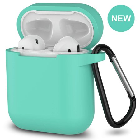 2019 Newest AirPods Case,360°Protective Silicone AirPods Accessories Kit Compatiable with Apple AirPods 1st/2nd Charging Case[Not for Wireless Charging Case]