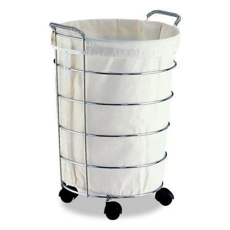 Neu Home Laundry Basket, Chrome