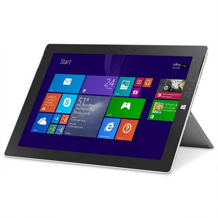 refurbished microsoft surface 3 tablet 128gb 10 8 windows 10