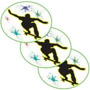 Partypro TQP-6179 Extreme Skateboard Sticker