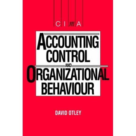 Accounting Control And Organizational Behaviour - image 1 of 1