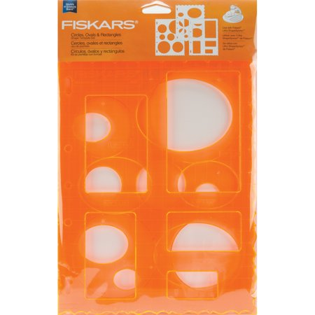 shape template set 8 5 x11 3 pkg circles ovals rectangles