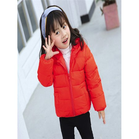 0fd972136 Chlidren Boys Girl Winter Coats Jacket Kids ZipThick Ears Cartoon ...