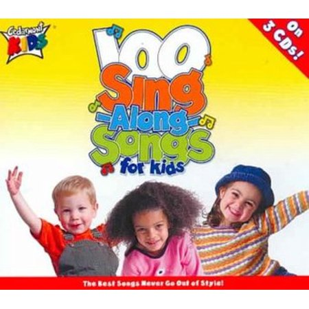 Cedarmont Kids - 100 Singalong Songs For Kids (3CD) - Long Halloween Songs For Kids