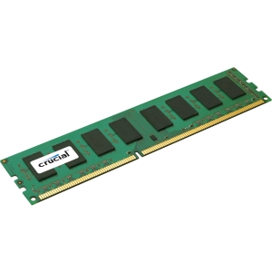 Crucial 4GB PC3-12800 DDR3 DIMM Unbuffered ECC Desktop Memory CT51272BD160BJ