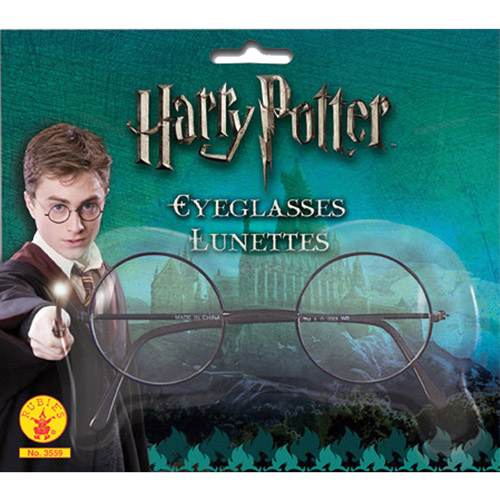 Harry Potter Glasses Adult Halloween Accessory