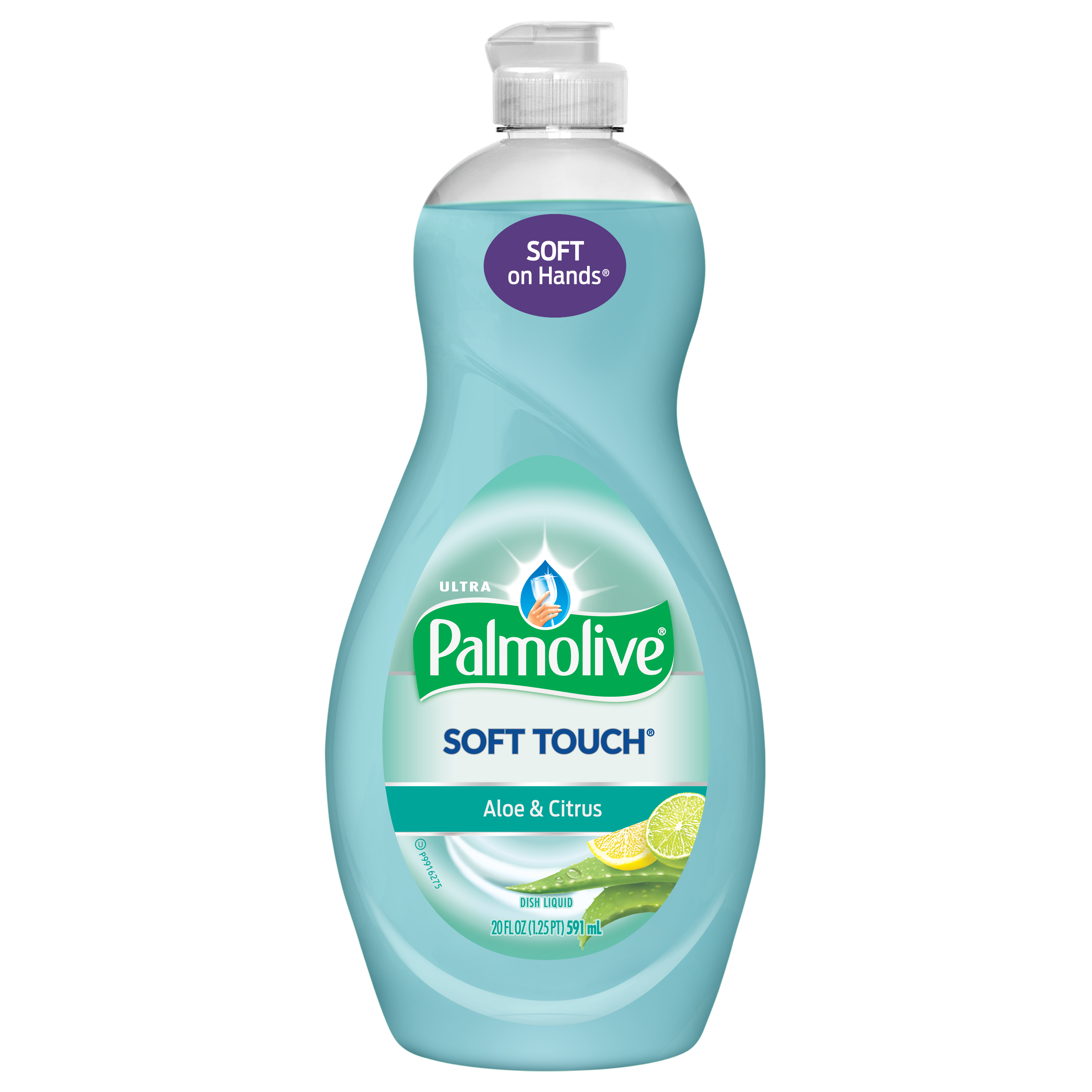 Palmolive Ultra Liquid Dish Soap, Soft Touch Aloe & Citrus - 20 Fluid Ounce