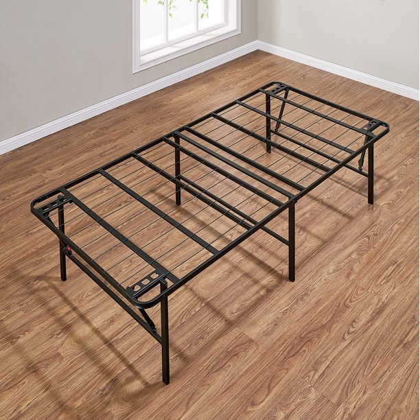 Mainstays 18 High Profile Foldable, How Much Is A Twin Bed Frame