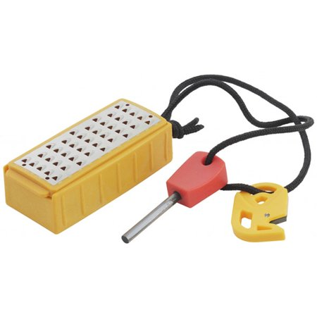 Smith's Pack Pal Tinder Maker with Fire Starter, 50562 ()