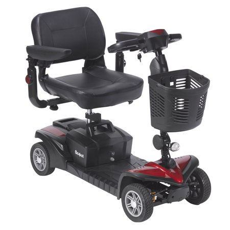 Drive medical scout dst 4 wheel travel scooter walmart drive medical scout dst 4 wheel travel scooter fandeluxe Image collections
