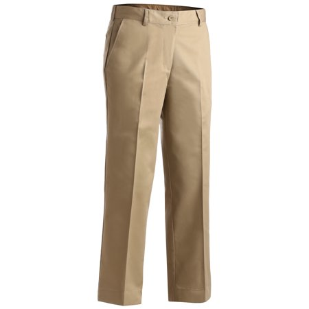 EDWARDS LADIES' EASY FIT CHINO FLAT FRONT PANT