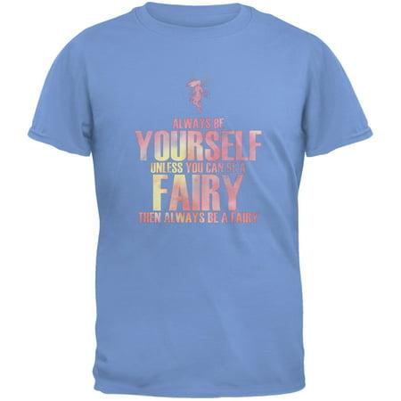 Halloween Yourself App (Halloween Always Be Yourself Fairy Carolina Blue Youth T-Shirt - Youth)