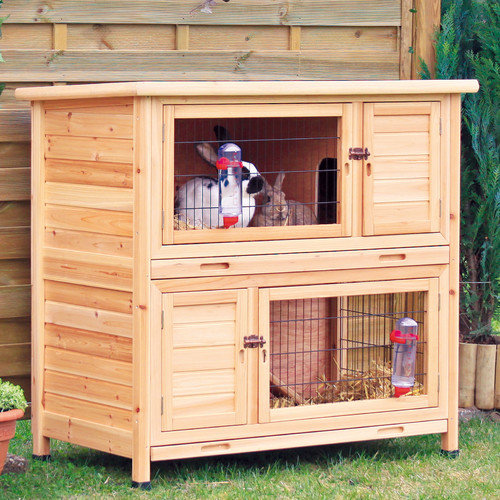 Trixie Pet Products Natura 2 Story Small Animal Hutch
