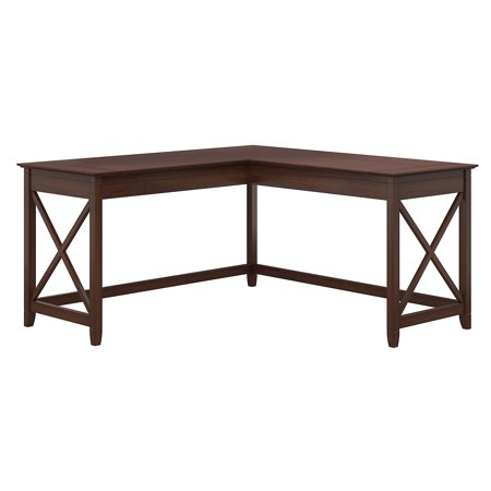 Bush Furniture Key West 60W L Shaped Desk