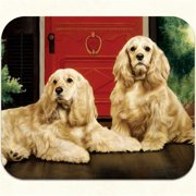 Fiddlers Elbow m21 Cocker Spaniel-Porch Mouse Pad, Pack Of 2