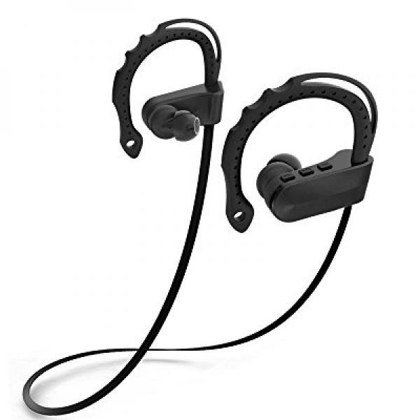 Lucky Clover Bluetooth Headphones Wireless V4 1 Sweatproof Sports Workout Earbuds For Running Stereo Noise Cancelling Headset With Microphone For Iphone And Android Phone Black Walmart Com Walmart Com